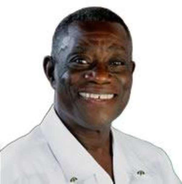 Prof. John Evans Atta Mills the NDC flagbearer